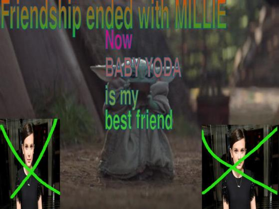 friendship ended